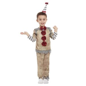 Barndräkt, vintage clown 100/113 cl