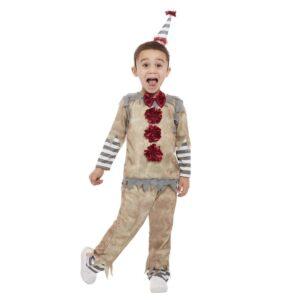 Barndräkt, vintage clown 85/98 cl