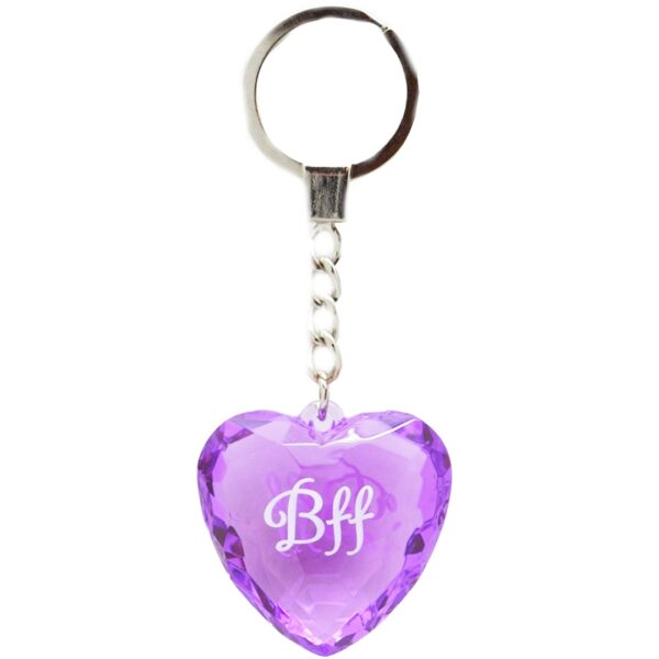 Diamond keyring - BFF