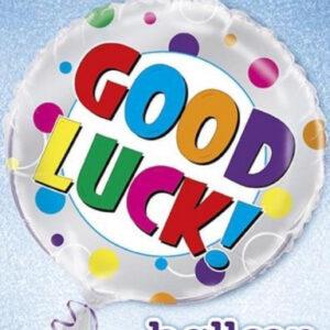 Folieballong Good Luck!