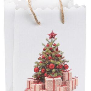 Gåvopåsar med Julgran Röd 6-pack