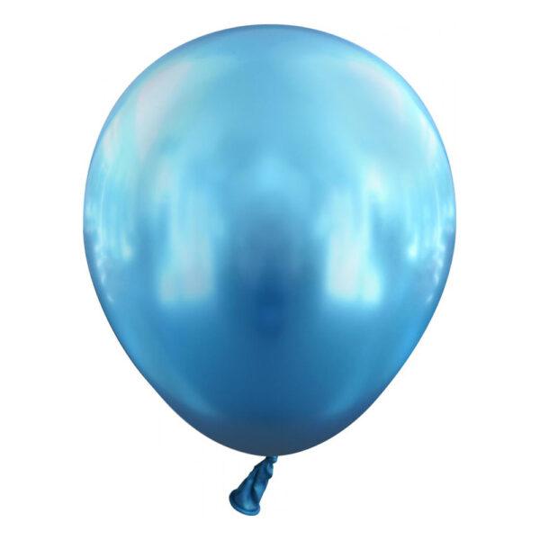 Latexballonger Mini Krom Blå - 100-pack