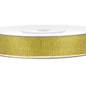 Presentband i tyg - Guld