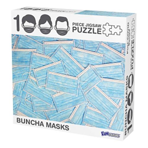 Pussel Munskydd - 1000 bitars