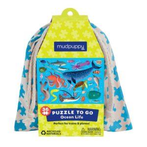 mudpuppy Pussel to go 36-bitar (Livet i havet)