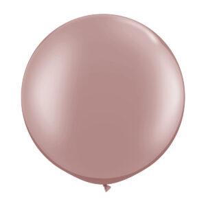 Ballong, rund roséguld 80 cm 1 st