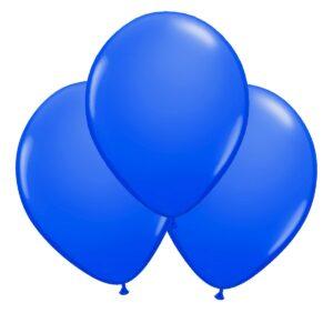 Ballonger, blå 30 cm 10 st