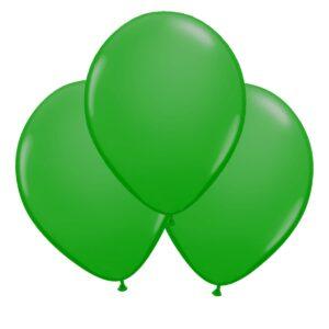 Ballonger, grön 30 cm 10 st
