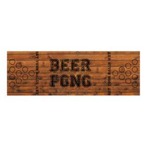 Beer Pong Bordsduk Old School