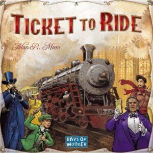 Days of Wonder Ticket to Ride Nordamerika (Sv)