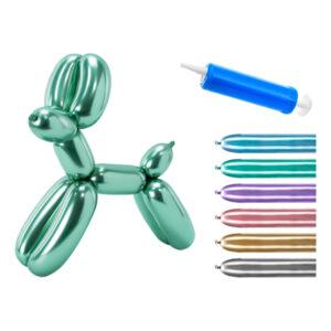 Figurballonger Krom Mix Kit