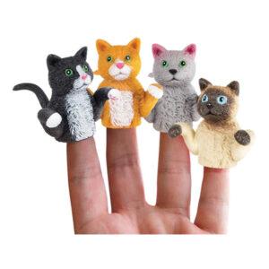 Fingerdocka Katt