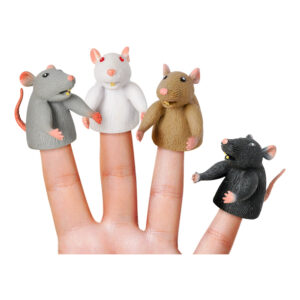 Fingerdocka Råtta