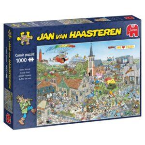 Jan Van Haasteren Pussel Island Retreat (1000-bitar)