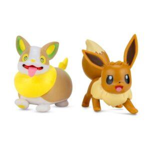 Pokémon Battlefigurer 2-Pack (Eevee #3 & Yamper)