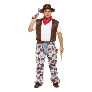 Cowboy Maskeraddräkt - XL