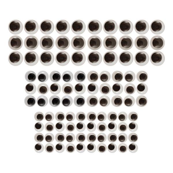 Googly Eyes Rullögon - 100-pack