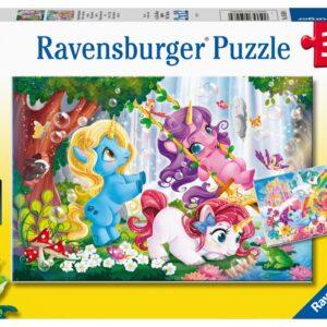 Ravensburger Pussel Magiska enhörningar 2x12-bitar