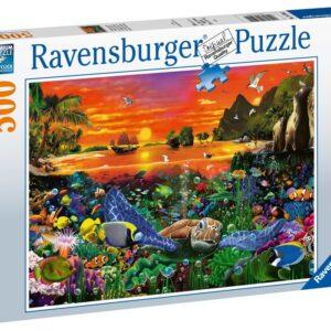 Ravensburger Pussel Under vattnet (500-bitar)