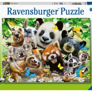 Ravensburger Pussel Vilddjur Selfie 300-bitar
