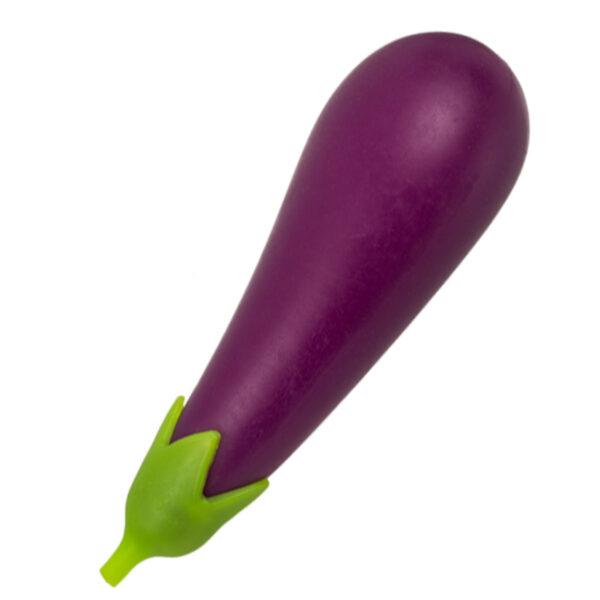 Squeeze stressboll, aubergine 17 cm