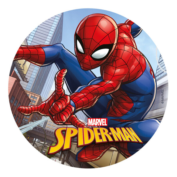 Tårtbild Spiderman