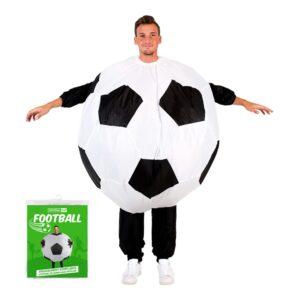Uppblåsbar Fotboll Maskeraddräkt
