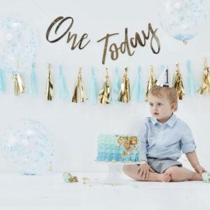 1-års Kalas Kit Blå