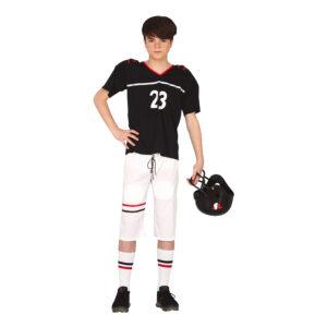Amerikansk Fotbollsspelare Teen Maskeraddräkt - One size