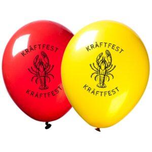 Ballonger, kräftfest 30 cm 10 st