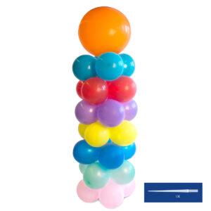 Ballongpelare, 1,2m med spets