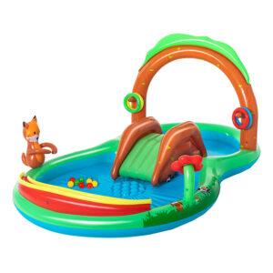 Bestway Uppblåsbar Vattenpark för Barn