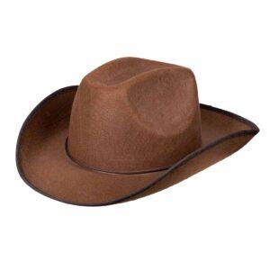 Cowboyhatt, rodeo brun