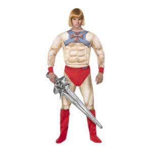 He-Man Maskeraddräkt - Large