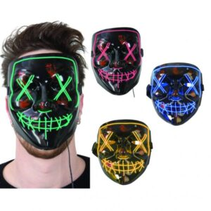 LED Mask Röd