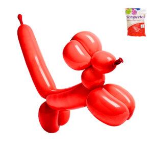 Mod ballonger op 100/påse-Röd