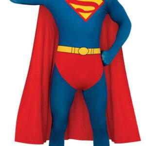Second Skin Superman Maskeraddräkt