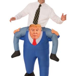 Uppblåsbar Donald Trump Carry Me Dräkt