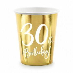 Guldmugg för 30års fest