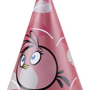 Angry Birds Pink Partyhatt