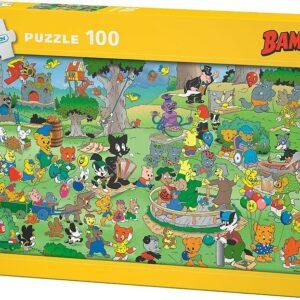 Bamse Pussel 100-bitar