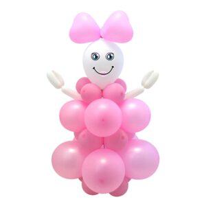 DIY Ballongfigur Rosa
