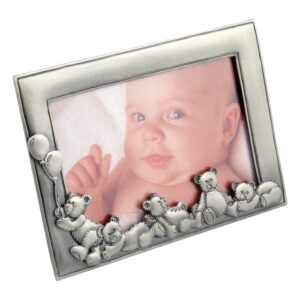 Dacapo Silver Fotoram med Nallar 10X15cm (Tennfinish)