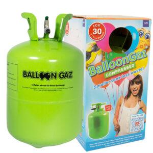 Helium På Tub Mellan 30 Ballonger